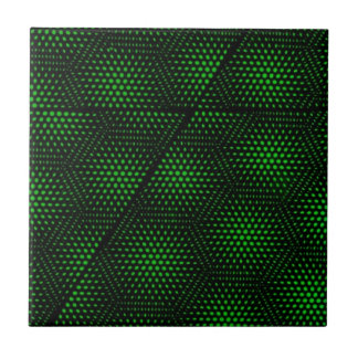 Abstract Green Background Tile