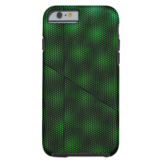 Abstract Green Background Tough iPhone 6 Case