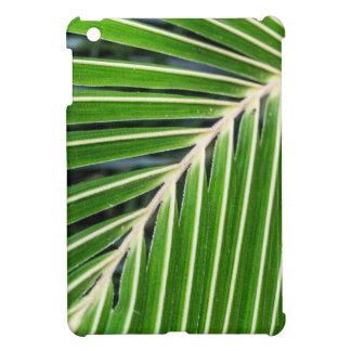 Abstract Green Palm Leaf iPad Mini Case