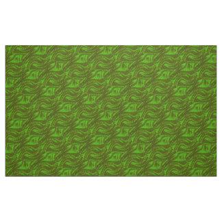 Abstract green Swirl Pattern