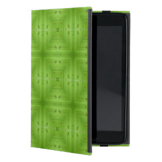 Abstract Green Wood Pattern Case For iPad Mini