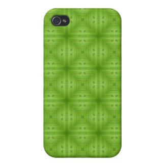 Abstract Green Wood pattern iPhone 4 Cover