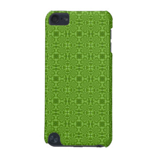 Abstract green Wood Pattern iPod Touch 5G Covers