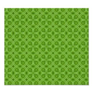 Abstract green Wood Pattern Photo Print