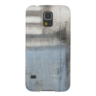 Abstract Grey & Blue Painting Case For Galaxy S5
