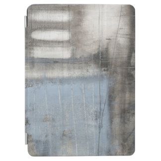 Abstract Grey & Blue Painting iPad Air Cover