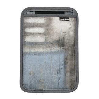 Abstract Grey & Blue Painting iPad Mini Sleeve