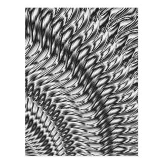 Abstract-grey Postcard