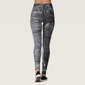 Abstract Grey's 101 Leggings