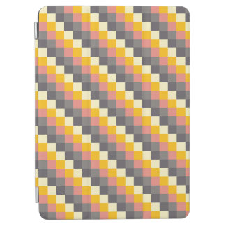 Abstract Grid Color Pattern iPad Air Cover