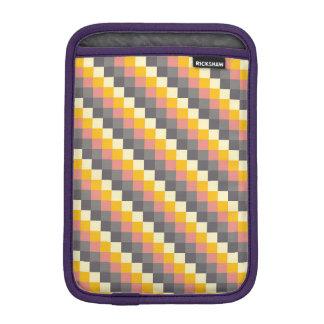 Abstract Grid Color Pattern iPad Mini Sleeve