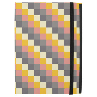 """Abstract Grid Color Pattern iPad Pro 12.9"""" Case"""