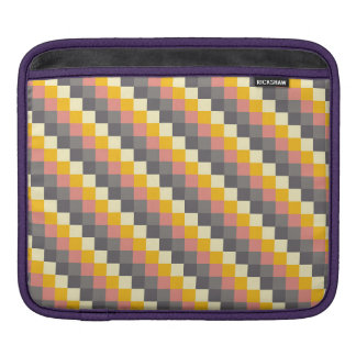 Abstract Grid Color Pattern iPad Sleeve