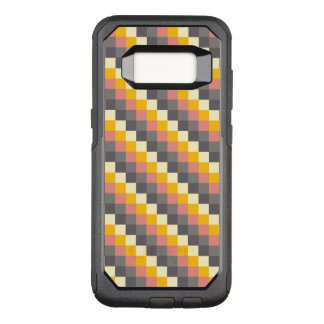 Abstract Grid Color Pattern OtterBox Commuter Samsung Galaxy S8 Case