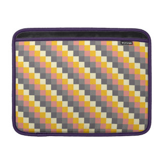 Abstract Grid Color Pattern Sleeve For MacBook Air