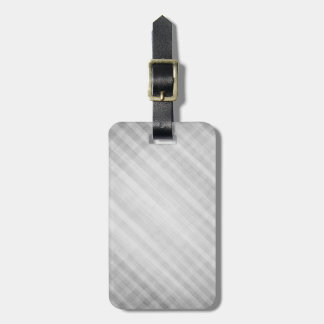 abstract grid pattern luggage tag
