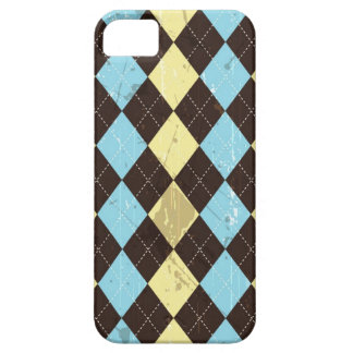 Abstract grunge argyle design Iphone 5 case