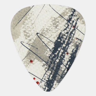 Abstract grunge background, ink texture. 2 guitar pick