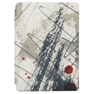Abstract grunge background, ink texture. 2 iPad air cover