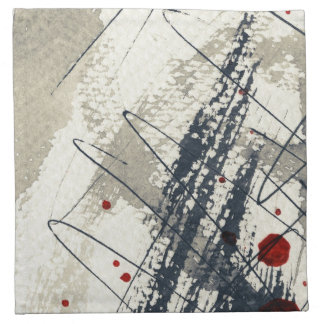 Abstract grunge background, ink texture. 2 napkin