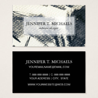 Abstract grunge background, ink texture. 3 business card
