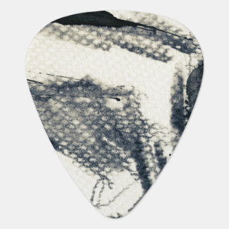 Abstract grunge background, ink texture. 3 guitar pick