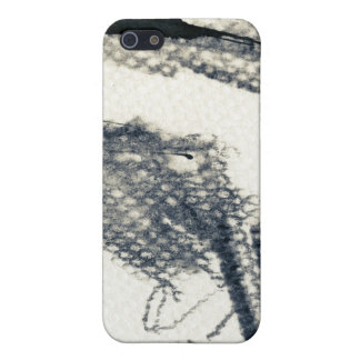 Abstract grunge background, ink texture. 3 iPhone 5/5S cover