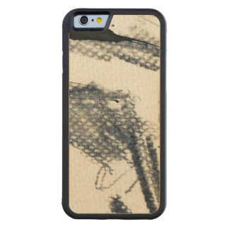 Abstract grunge background, ink texture. 3 maple iPhone 6 bumper