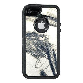 Abstract grunge background, ink texture. 3 OtterBox iPhone 5/5s/SE case
