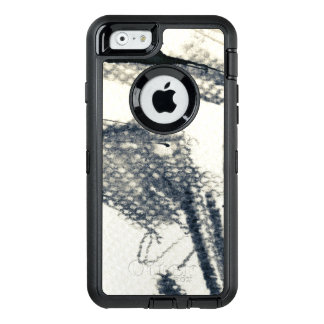 Abstract grunge background, ink texture. 3 OtterBox iPhone 6/6s case