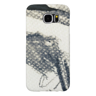 Abstract grunge background, ink texture. 3 samsung galaxy s6 cases