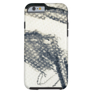 Abstract grunge background, ink texture. 3 tough iPhone 6 case