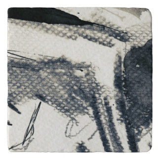 Abstract grunge background, ink texture. 3 trivet