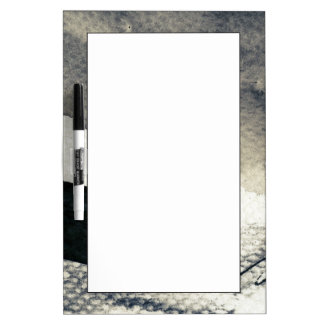 Abstract grunge background, ink texture. 4 dry erase board