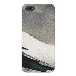 Abstract grunge background, ink texture. 4 iPhone 5 case