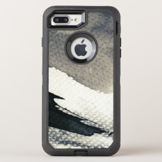 Abstract grunge background, ink texture. 4 OtterBox defender iPhone 8 plus/7 plus case