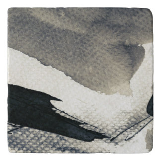 Abstract grunge background, ink texture. 4 trivet