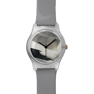 Abstract grunge background, ink texture. 4 watch