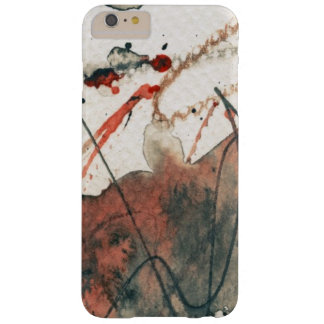 Abstract grunge background, ink texture. 5 barely there iPhone 6 plus case