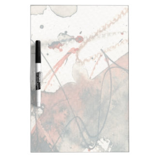 Abstract grunge background, ink texture. 5 dry erase board