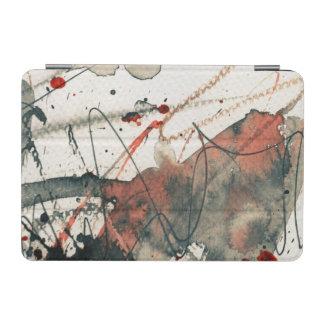 Abstract grunge background, ink texture. 5 iPad mini cover