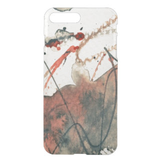Abstract grunge background, ink texture. 5 iPhone 8 plus/7 plus case