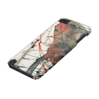 Abstract grunge background, ink texture. 5 iPod touch (5th generation) cover