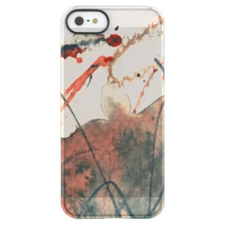 Abstract grunge background, ink texture. 5 permafrost® iPhone SE/5/5s case