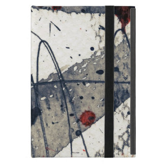 Abstract grunge background, ink texture. iPad mini covers