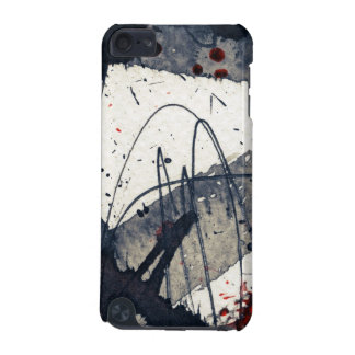 Abstract grunge background, ink texture. iPod touch 5G case
