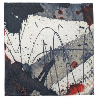 Abstract grunge background, ink texture. napkin