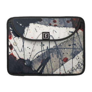 Abstract grunge background, ink texture. sleeve for MacBook pro