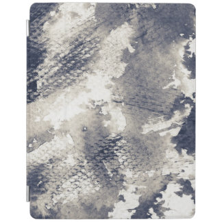 Abstract grunge background. Watercolor, ink iPad Cover