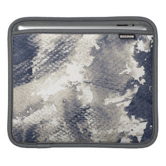 Abstract grunge background. Watercolor, ink iPad Sleeve